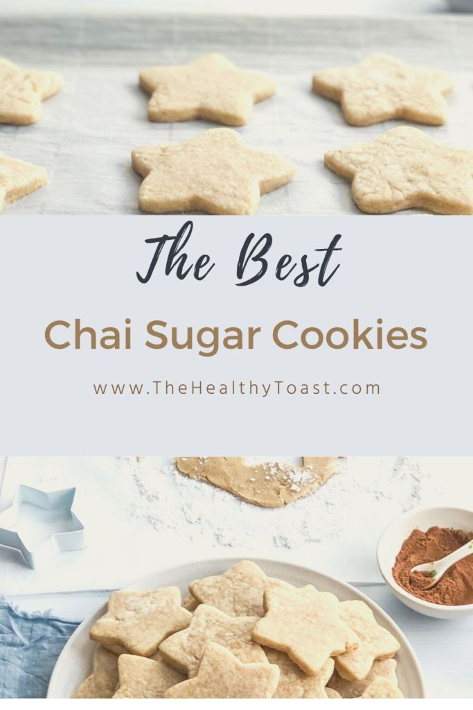 Chai sugar cookie pinterest image