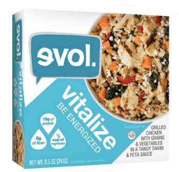 Box of Evol vitalize bowl