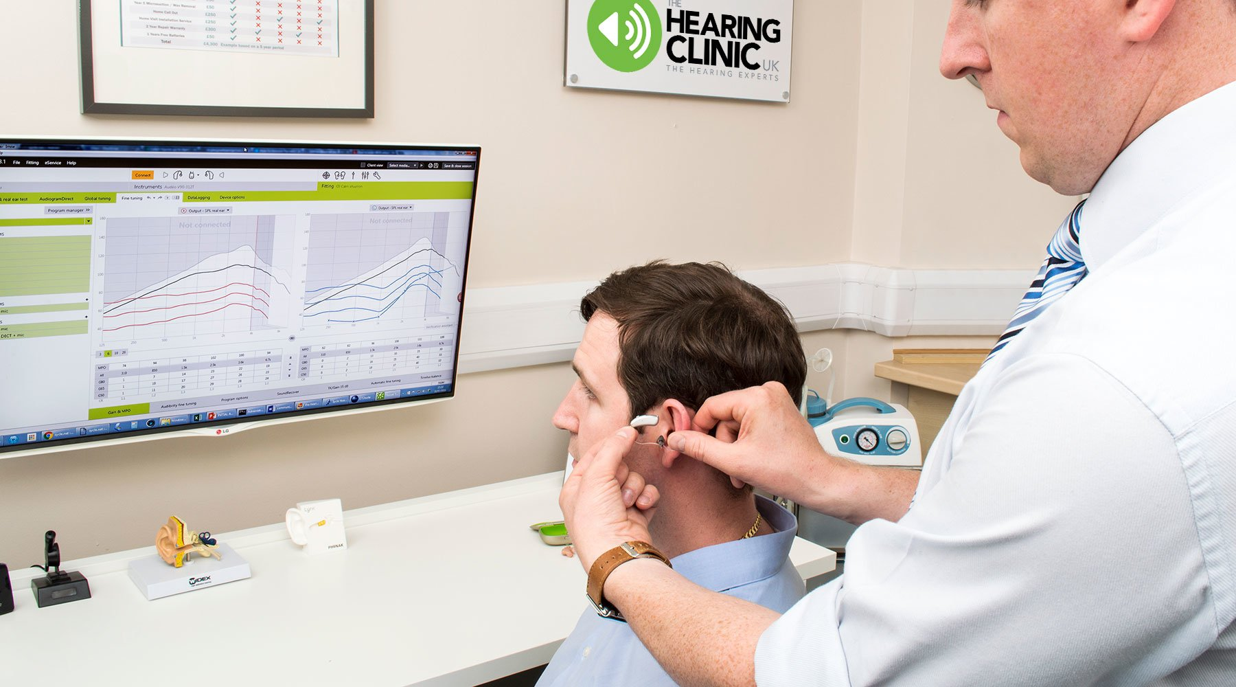 Your Hearing Device Fitted By The Hearing Clinic UK