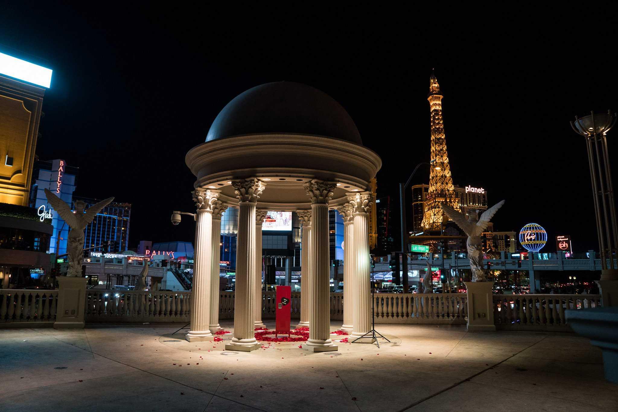 Las Vegas Marriage Proposal Ideas The Heart Bandits