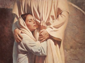 Mary Magdalen Clings to Jesus