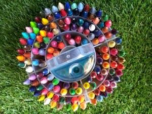 Crayon wheel