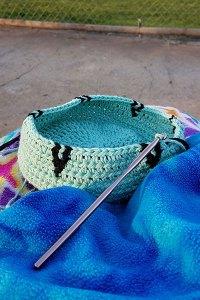 Exploring the Art of Tapestry Crochet: Basket - 1
