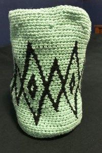 Exploring the Art of Tapestry Crochet - Basket 3