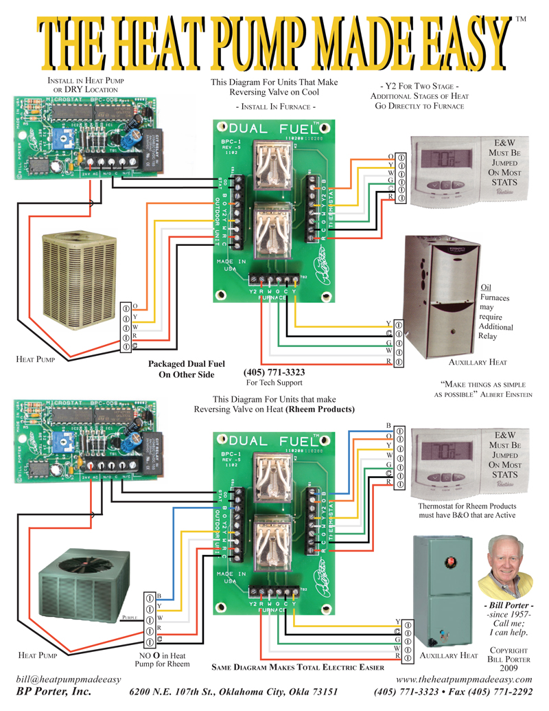 Amana Hvac Wiring Diagrams The Heat Pump Made Easy By Bill Porter
