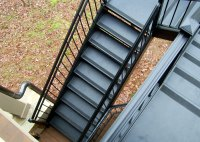 Exterior Stairs | Outdoor Stairs | Heirloom Stair & Iron