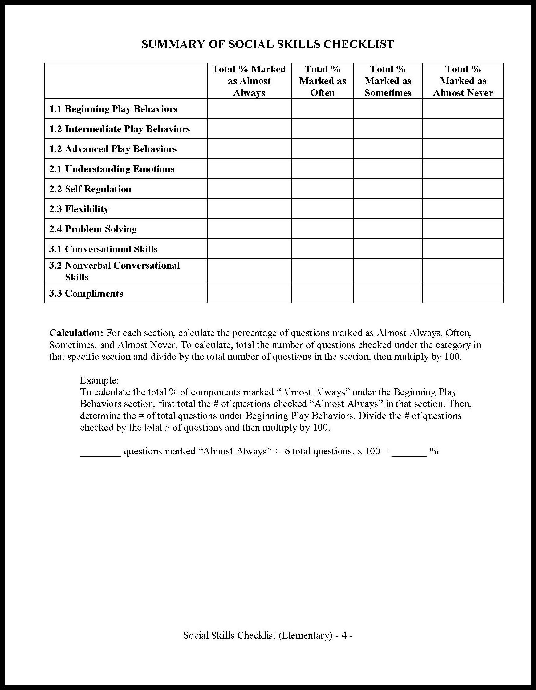 Parenting List Of Parenting Skills