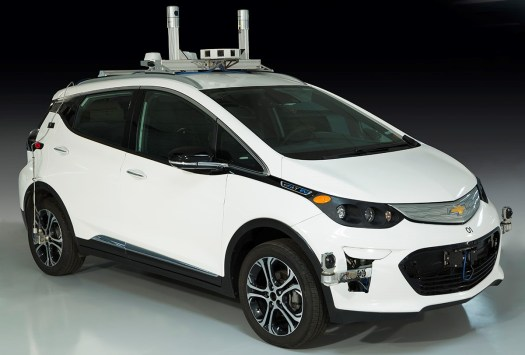First-Generation Self-Driving Test Vehicle