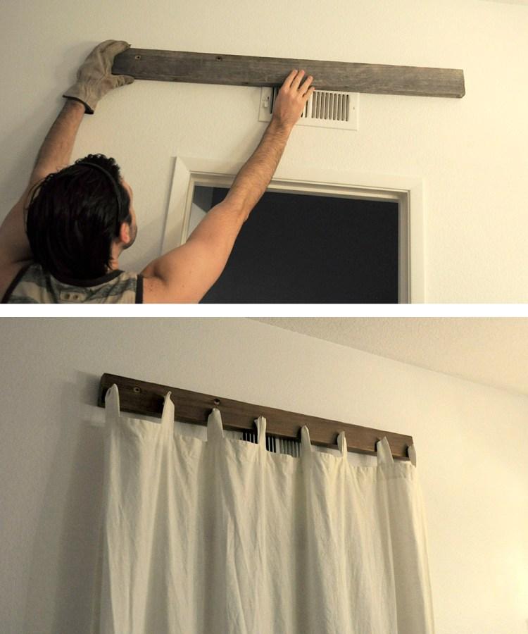 Installing Curtain