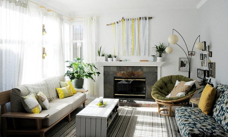 Summer Living Room