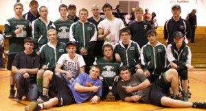 Rangely's wrestlers won the team title at last weekend's Paonia tournament. The Panthers then beat their county rivals, Meeker, 66-9 in a dual Tuesday night. Meeker wrestles at home Friday, and Rangely is at home next Tuesday.