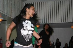 Isabella Atoafa was part of a hip-hop act called Legit.
