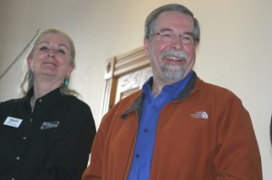 James Branch of ExxonMobil and Susan Alvillar of Williams were two of the speakers at the March 10 Energy Forum.