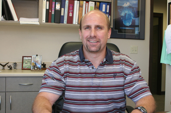Berry Swenson is the new principal of Rangely Junior/Senior High. Classes start Aug. 16; Aug. 18 at Parkview Elementary.