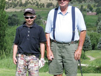 bobby gutierrez Adam Hawkins of Craig and Ed Leech of Grand Junction were paired together for last Sunday's round of the Lischke Memorial golf tournament held at the Meeker Golf Course. The two golfers were the youngest and oldest on the course, with more than 60 years separating them. Hawkins finished tied for third, with a net score of 133, nine shots ahead of Leech.