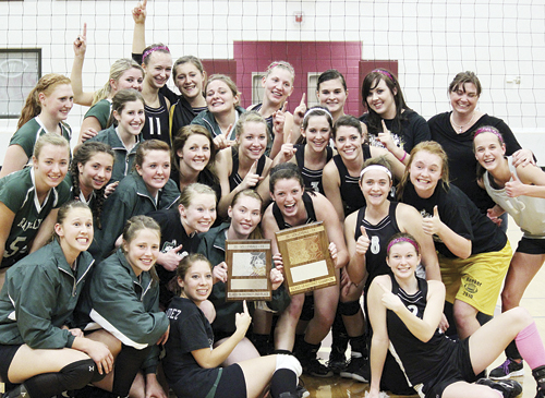 Both Rio Blanco County volleyball teams will represent their schools this Saturday in the state-qualifying regional tournament to be held at Palisade High School. The Cowboys won the district title and the Panthers finished second. Mancos and Telluride will compete against Meeker and Rangely in pool play to determine the top two teams to advance to the Colorado State Volleyball Championships next week in Denver.