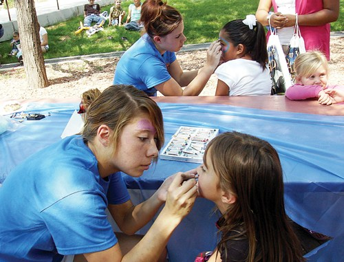 Approximately 250 children and parents enjoyed the annual Summer Reading Carnival, sponsored by the Rangely Regional Library Aug. 7 and were treated to pony rides, cotton candy, snow cones, face painting and more. A total of 308 readers signed up and read 5,588 books.