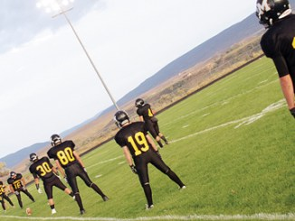 The Meeker High School football team kicked off the 2012 season at home in Starbuck Stadium last Friday and defeated Grand Junction Central's JV team 27-0. The Cowboys will host Grand Valley's JV team this Friday starting at 7 p.m.