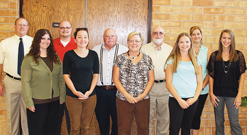 These are the new staff members at Rangely Junior/Senior High School. Left to right: Greg Henry, Susan Kruger, Brooke Lohse, Angelia Simpson, Kari Enke and Teresa Staley. Classes at the school started on Monday.