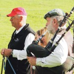 Sheridan, Wyo., resident Bob Wyatt  was the Classic's bag piper.
