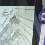 This sketch won the ribbon for Best Art of Northwest Colorado.