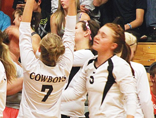 After winning two matches, Meeker will host Hotchkiss Friday.