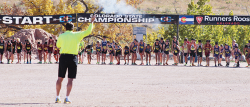 """""""The course at the Norris-Penrose Event Center is fantastic,"""" Meeker cross country coach Marty Casey said after the race by two of his athletes, senior Caleb Lange and freshman Julia Eskelson. Both qualified for and ran in the 2013 Colorado State Cross Country Championships."""