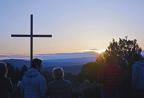 Easter Sunrise, Rangely, CO Apr 20, 2014