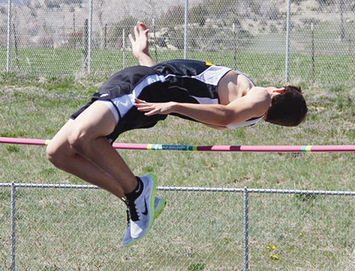 Cowboy senior Jeremy Musgrave cleared 6 feet in the high jump and triple jumped 40-9 in Kremmling. He will try to solidify his trip to the Colorado State Track and Field Championships in his first year out for the sport.