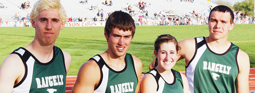 Rangely seniors Andrew Morton, Aimee Hogan, Connor Phelan and Colt Allred all qualified for the state tournament.