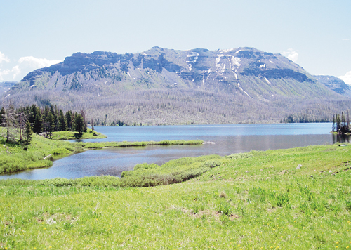 j.t. stangl photo Trappers Lake in 2012 — A key player in the Wilderness Act of 1964.