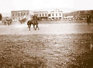 Fourth of July celebration in Meeker in 1911.
