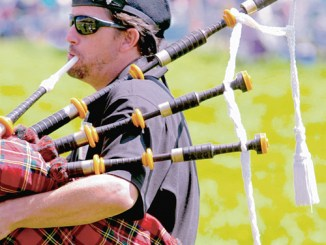 "The sheepdog competitions have their roots in the highlands of Scotland and Ireland and, as such, are associated with the ""pipes"" of the Irish and Scottish bagpipers. There will be pipers on hand during the Meeker Classic, and their instruments can be heard periodically as they practice between performances."
