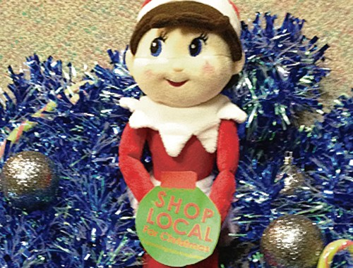 Rangely shoppers who find and photograph Sage, the Rangely Christmas elf, have the opportunity to win $250.