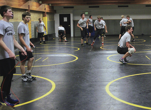 Hopes are high again this year for the Meeker Cowboy wrestling team, coming off a good year last season. MHS head wrestling coach J.C. Watt has high hopes this season with six wrestlers who will return with state tournament experience. The Cowboy matmen will kick off their season in Grand Junction where they will wrestle five duals at Colorado Mesa University. The junior varsity will head to Olathe.