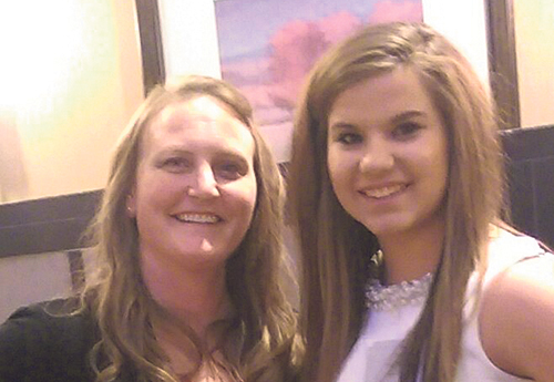 Meeker High School advisor Beth Mullins, left, took the FCCLA to Denver for the state convention and Linda Lombardi, right, ended up a state officer.