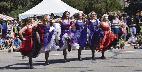 """The annual Fourth of July parade down Main Street in Meeker draws a big crowd of all ages to celebrate. This year's theme is """"Cowboy Pride."""" The parade will begin Monday, July 4 at 10 a.m."""