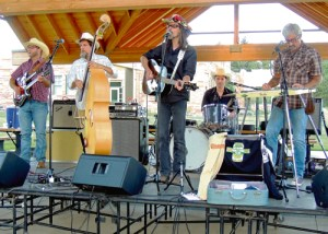 The Eastern Rio Blanco Metropolitan Recreation and Park District held the second of its four Summer Entertainment Series events on Friday just off the Downtown Plaza at Fifth and Main streets. The country/bluegrass band, Halden Wofford and the Hi-Beams Band, delighted the small group of spectators.