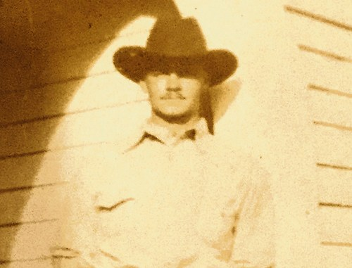 "This is a photograph of ""Hermie"" Park, as he was called, in 1930, the year he disappeared in eastern Rio Blanco County."