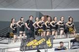 cheerleaders from below