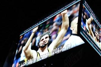 tj on big screen