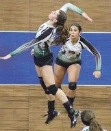 Rangely team captain Sarah Connor led the Panthers with 227 kills, 135 blocks and 23 aces. Bobby Gutierrez photo