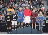 Amick guaranteed himself a place on the podium by advancing to the championship semifinals. Amick, a junior, placed sixth in his first state tournament.