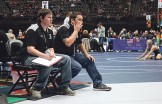 Rangely coaches Logan Osborne and J.C. Chumacero.