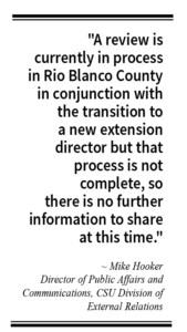 More questions than answers in extension office audit
