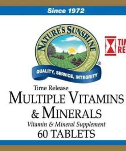 Multiple Vitamins & Minerals Time-Released