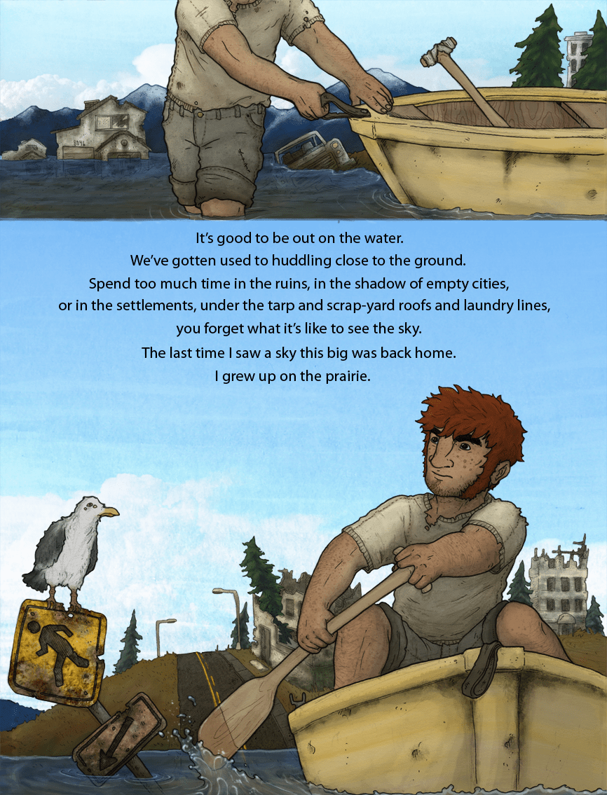 Afloat: Page 1
