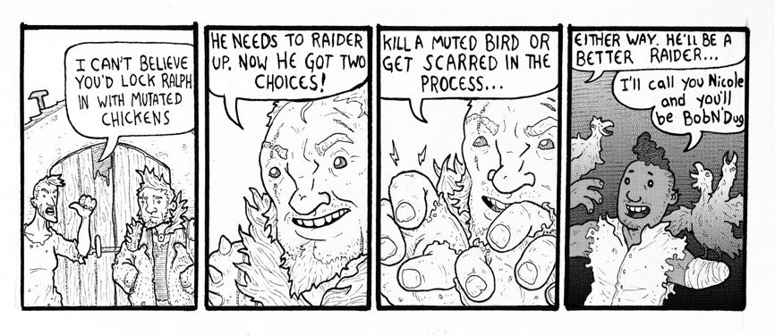 Comic Scrap: Mutated Chickens!