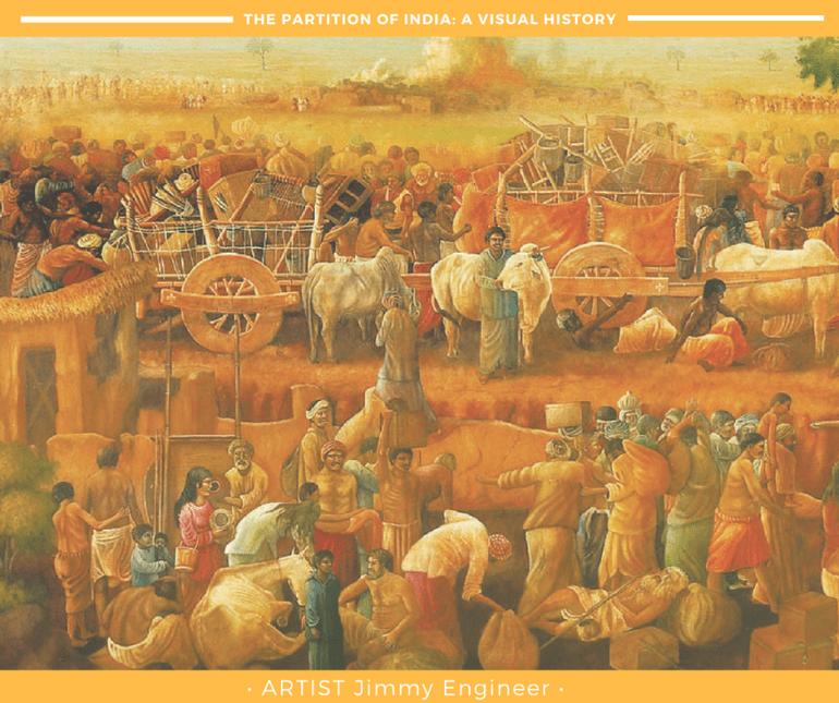 india-partition-art