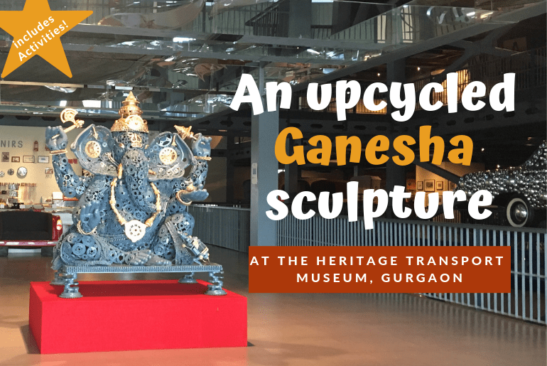 upcycled ganesha heritage transport museum